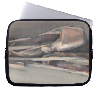 Pointe shoes laptop sleeve
