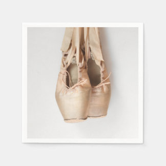 Pointe Shoes Paper Napkin