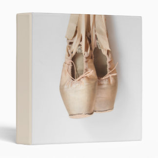 Pointe Shoes Vinyl Binders