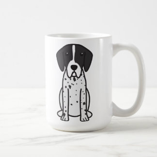 Pointer Dog Cartoon Coffee Mug