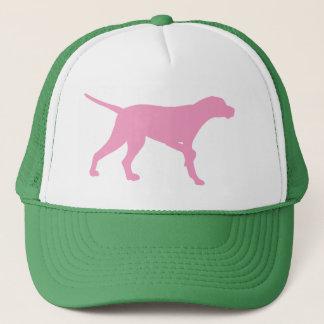 Pointer Dog (in pink) Trucker Hat