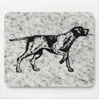 pointer dog mouse pad