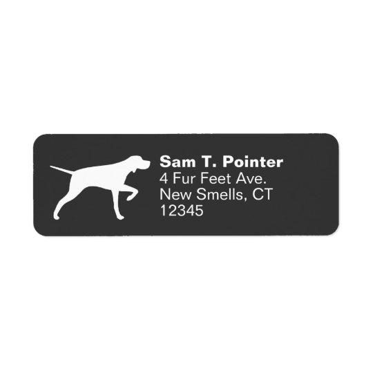 Pointer Dog Silhouette