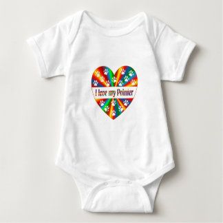 Pointer Love Baby Bodysuit