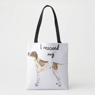 Pointer Rescue Tote Bag