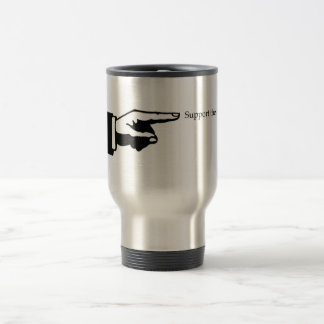 Pointer Support the Arts travel mug