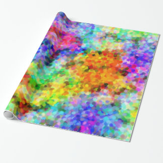Pointillism Chakra Wrapping Paper