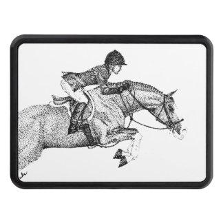 Pointillism de poney de chasseur couverture d'attelage de remorque