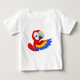 Pointing Parrot Bird Baby T-Shirt