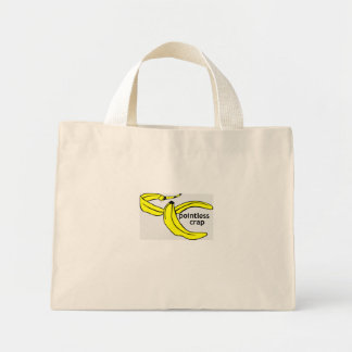 Pointless Crap Banana Peel Tote