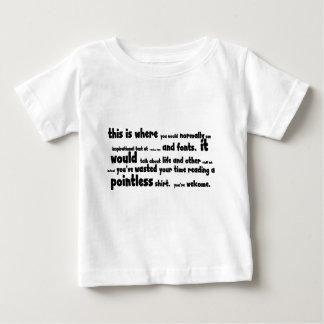 Pointless stuff baby T-Shirt