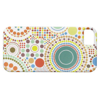 Points abstraits et caisse des cercles iphone4 coque barely there iPhone 5