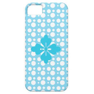 points et couleur bleu-clair coque iPhone 5 Case-Mate