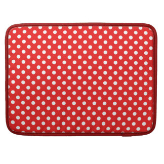 Points knows on red sleeve for MacBooks