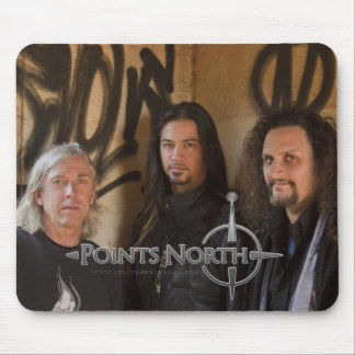 "Points North ""Graffiti"" Mouse Pad"