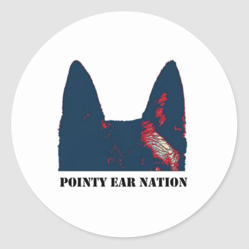 Pointy Ear Nation Stickers