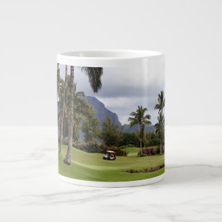 Poipu Bay Golf Course, Kauai, Hawaii Large Coffee Mug