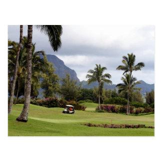 Poipu Bay Golf Course, Kauai, Hawaii Postcard