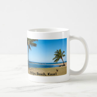 Po'ipu Beach, Kaua'i Keepsake Coffee Mug