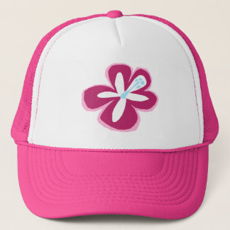 """Poipu Flower"" Trucker Hat"