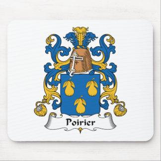 Poirier Family Crest Mouse Pad