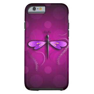 Pois rose de mouche de dragon ! coque tough iPhone 6