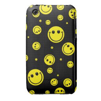 Pois souriant étuis iPhone 3