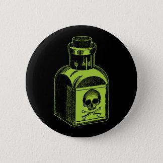 Poison Bottle 2 Inch Round Button