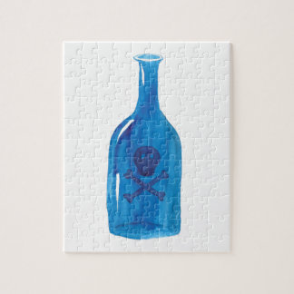 Poison Bottle Jigsaw Puzzle