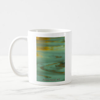 Poison Creek, Wyoming Abstract Photography Design Coffee Mug