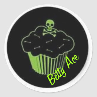 Poison Cupcake Sticker