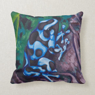 Poison Dart Frog #3 Throw Pillow