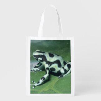 Poison Dart Frog, (Dendrobates auratus) Cahuita Grocery Bag