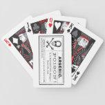 Poison! Halloween Bicycle Card Decks