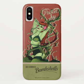 Poison Ivy Bombshell iPhone X Case