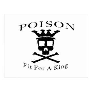 Poison Logo by: David Lee Postcard