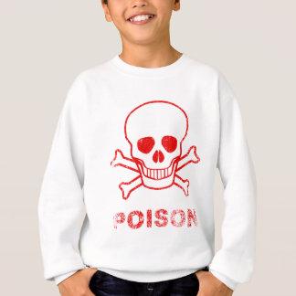 Poison Red Ink Stamp Sweatshirt