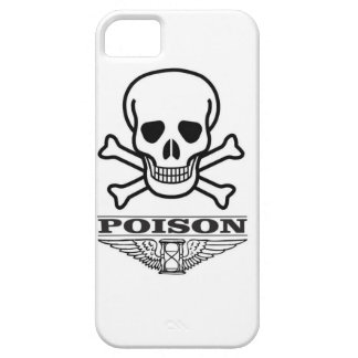 poison skull of death iPhone 5 covers