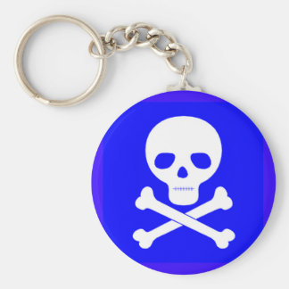 Poison Symbol Keychain