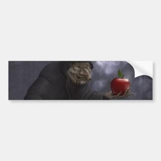 Poisoned apple bumper sticker