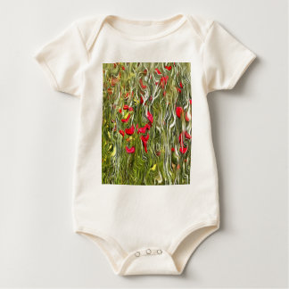 Poisoned Poppies Baby Bodysuit