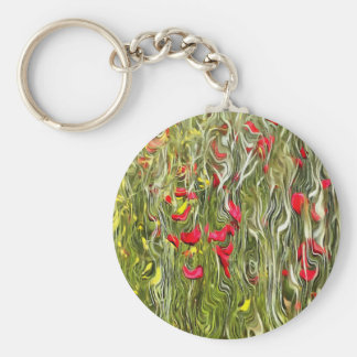 Poisoned Poppies Keychain