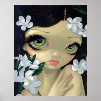 Poisonous Beauties 2 : White Oleander ART PRINT