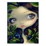 """Poisonous Beauties I: Belladonna"" Postcard"