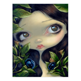 """Poisonous Beauties I: Belladonna"" Postcard"