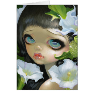 """Poisonous Beauties V: Datura"" Greeting Card"
