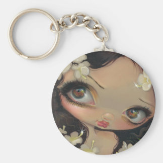 """Poisonous Beauties VII: Hemlock"" Keychain"