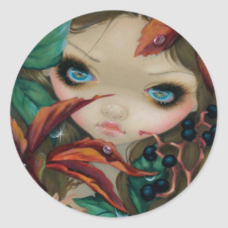 """Poisonous Beauties X: Virginia Creeper"" Sticker"