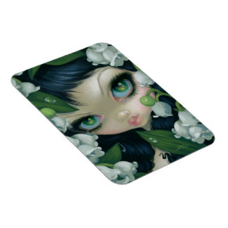 """Poisonous Beauties XI: Lily of the Valley"" Magnet"