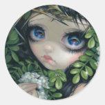 """Poisonous Beauties XII: Black Locust"" Sticker"